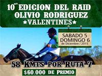 afiche raid olivio rodriguez 2015