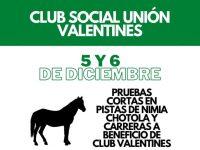evento valentines 5 y 6 diciembre