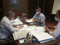Reunión entre la Dirección de Desarrollo Sustentable de Florida, el CECOED y la Intendencia por acciones ante la sequía